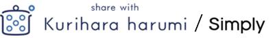 share with Kurihara harumi / Simply